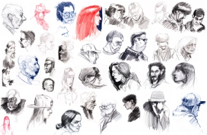 Life Drawing Portraits